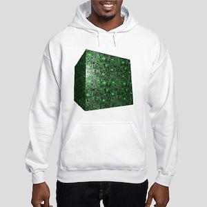 Borg Cube Hooded Sweatshirt