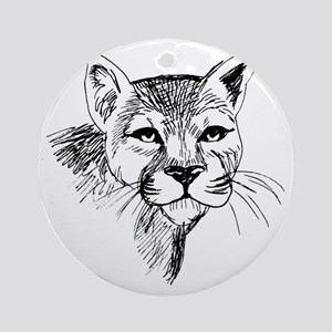 Steve French Round Ornament