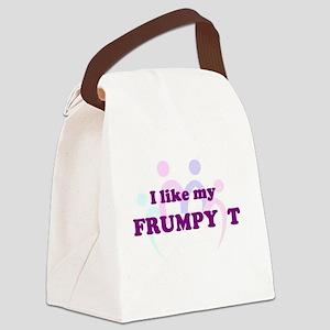 Frumpy T Canvas Lunch Bag