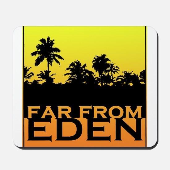 Far From Eden - Yellow Orange Gradient Mousepad