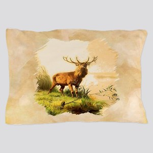 Young Bull Elk Pillow Case