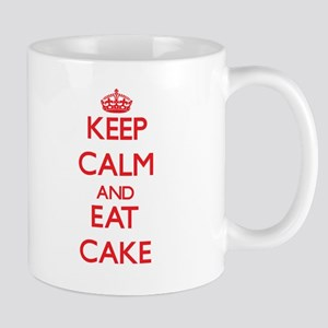 Keep calm and eat Cake Mugs