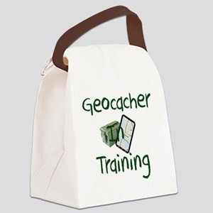 in training Canvas Lunch Bag