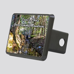 Great Smoky Mountains Cale Rectangular Hitch Cover