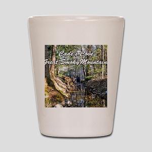 Great Smoky Mountains Calendar Shot Glass