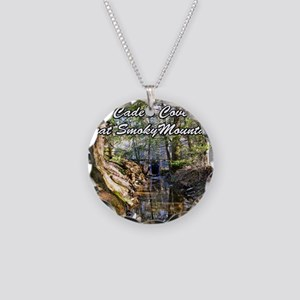 Great Smoky Mountains Calend Necklace Circle Charm