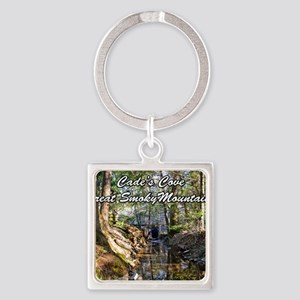 Great Smoky Mountains Calendar Square Keychain