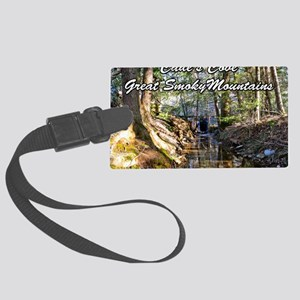 Great Smoky Mountains Calendar Large Luggage Tag