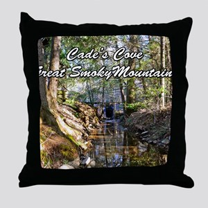 Great Smoky Mountains Calendar Throw Pillow
