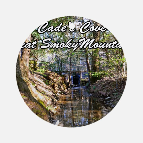 Great Smoky Mountains Calendar Round Ornament