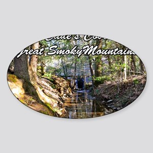 Great Smoky Mountains Calendar Sticker (Oval)