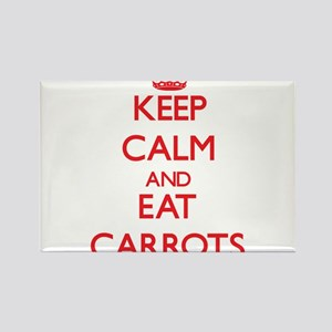 Keep calm and eat Carrots Magnets