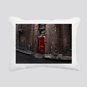 Ghost in 102A Rectangular Canvas Pillow
