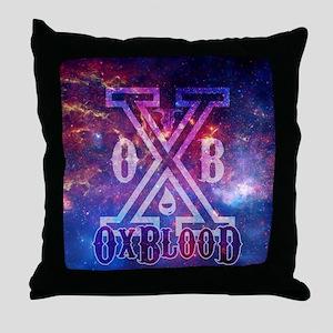 OxBlooD Galaxy X Design Throw Pillow