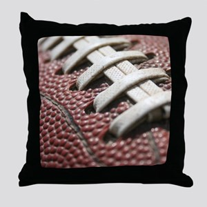 Football  2 Throw Pillow