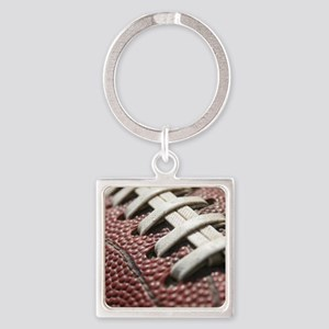 Football  2 Square Keychain