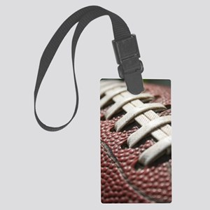 Football  2 Large Luggage Tag