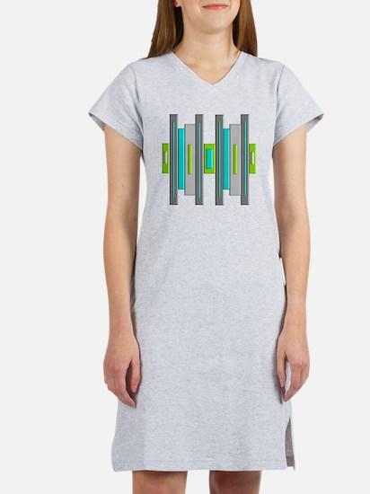 Mid Century Modern Women's Nightshirt