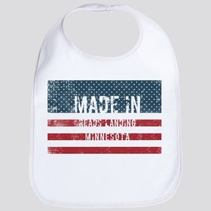 Made in Reads Landing, Minnesota Baby Bib