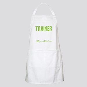 TRAINER - KISS IT - LIME Apron