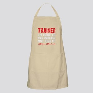 TRAINER - KISS IT - BLACK Apron