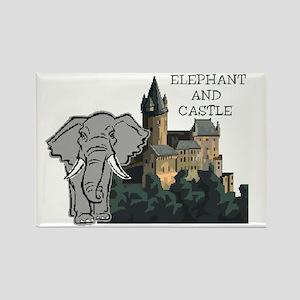elephant and castlebl Magnets