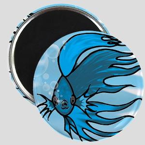 Blue Betta Magnet