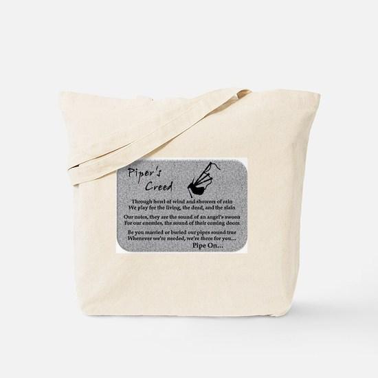 Piper's Creed (Stone) Tote Bag