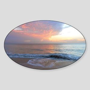 Vero Beach FLA Sticker (Oval)