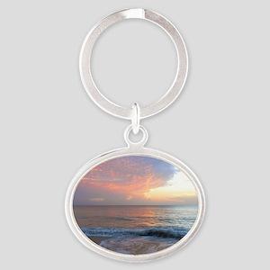 Vero Beach FLA Oval Keychain