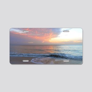 Vero Beach FLA Aluminum License Plate