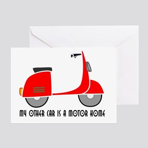 RV SCOOTER Greeting Card