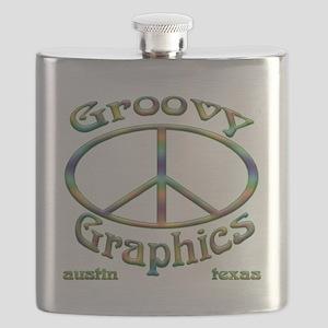 Groovy Graphics ATX company logo Flask