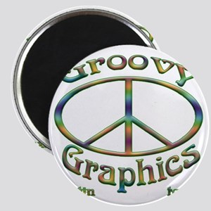 Groovy Graphics ATX company logo Magnet