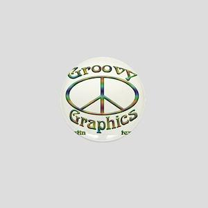 Groovy Graphics ATX company logo Mini Button