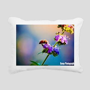 Pollination  Rectangular Canvas Pillow