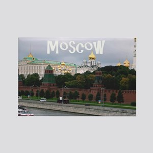 Moscow_18.8x12.6_Kremlin Rectangle Magnet