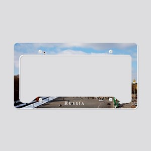 Moscow_17.44x11.56_LargeServi License Plate Holder