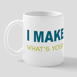 I MAKE TWINS Whats Your superpower? Mug