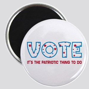 Patriotic Vote Magnet