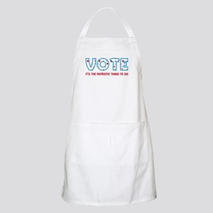 Patriotic Vote Apron