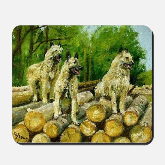 Belgian Laekenois Dog Mousepad