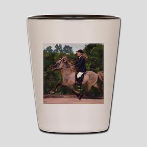 Icelandic Horse Shot Glass