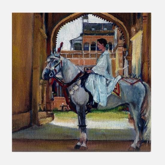 Marwari Horse Tile Coaster