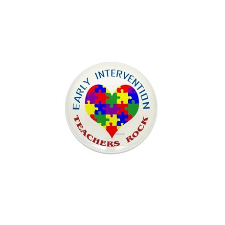 Early Intervention Teachers R Mini Button