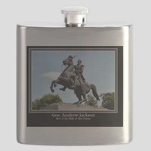 Gen. Andrew Jackson Flask