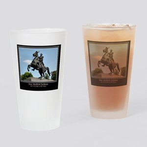 Gen. Andrew Jackson Drinking Glass