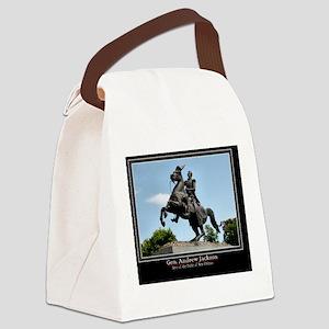 Gen. Andrew Jackson Canvas Lunch Bag