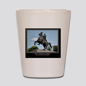 Gen. Andrew Jackson Shot Glass
