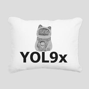 Cat Inspiration Rectangular Canvas Pillow